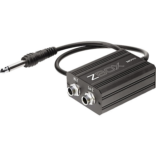 MOTU Zbox Guitar Impedence Adapter
