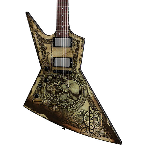 Dean Zero Dave Mustaine In Deth We Trust Left-Handed Electric Guitar-thumbnail