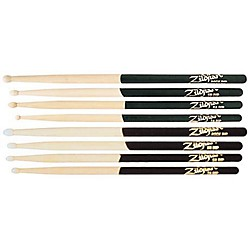 Zildjian 3-Pair DIP Drumsticks (KIT769809)