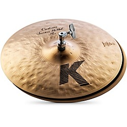 Zildjian K Custom Session Hi-Hat Cymbals (K0993)