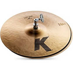 Zildjian K Light Hi-Hat Pair Cymbal (K0812)