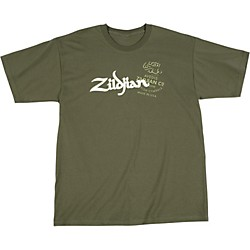 Zildjian Military Green T-Shirt (T5631)