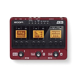 Zoom B3 Bass Effects and Amp Simulator (ZB3)