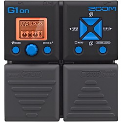 Zoom G1on Guitar Multi Effects Pedal (ZG1on)