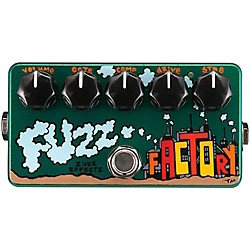 Zvex Hand-Painted Fuzz Factory Guitar Effects Pedal (FF-PAINTED)