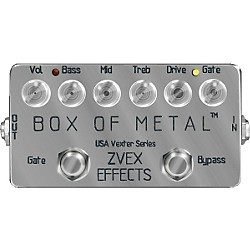 Zvex USA Vexter Box of Metal Distortion Guitar Effects Pedal (USVBOM-PAINTED)