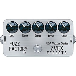 Zvex USA Vexter Fuzz Factory Guitar Effects Pedal (USVFF-PAINTED)