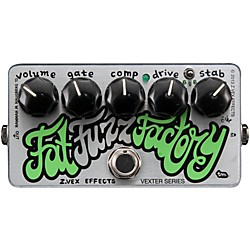 Zvex Vexter Fat Fuzz Factory Guitar Effects Pedal (VFFF)
