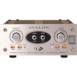 avalon Ultra Five Direct Box Instrument Preamplifier (U5)