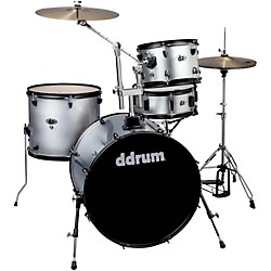 ddrum D2 4-Piece Drum Set (D2RSILVERSPKL)