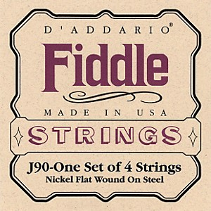 D-Addario-J90-Fiddle-4-4-Size-Chrome-Steel-String-Set-Standard