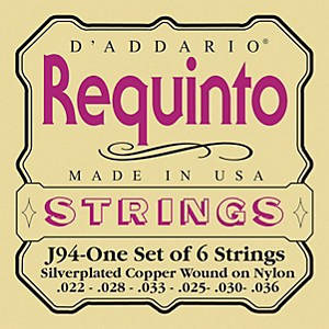 D-Addario-J94-Silver-Plated-Wound-Requinto-String-Set-Standard
