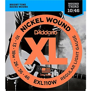 D-Addario-EXL110W-Nickel-Regular-Light-Wound-3rd-Electric-Guitar-Strings-Standard