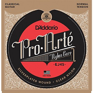 D-Addario-EJ45-Pro-Arte-Normal-Tension-Classical-Guitar-Strings-Standard