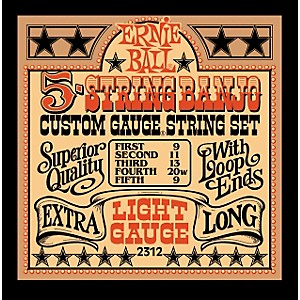 Ernie-Ball-2312-Light-Gauge-5-String-Banjo-Strings-Standard