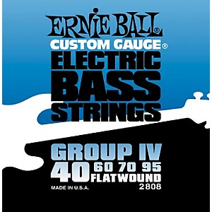 Ernie-Ball-2808-Flat-Wound-Group-IV-Electric-Bass-Strings-Standard
