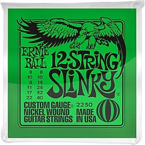 Ernie-Ball-2230-Nickel-12-String-Slinky-Electric-Guitar-Strings-Standard