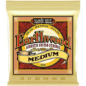 Ernie-Ball-2002-Earthwood-80-20-Bronze-Medium-Acoustic-Guitar-Strings-Standard