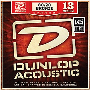 Dunlop-Medium-80-20-Bronze-Acoustic-Guitar-Strings-Standard