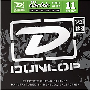 Dunlop-Nickel-Plated-Steel-Electric-Guitar-Strings---Medium-Heavy-Standard
