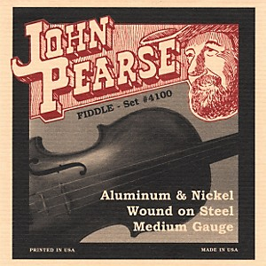 John-Pearse-4100-Flat-Wound-Fiddle-Strings-Standard