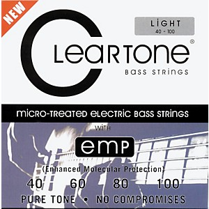 Cleartone-Micro-Treated-Light-Electric-Bass-Guitar-Strings-Standard