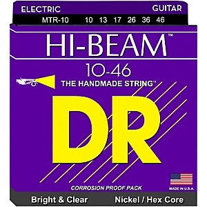 DR-Strings-MTR10-Hi-Beam-Nickel-Medium-Electric-Guitar-Strings-Standard