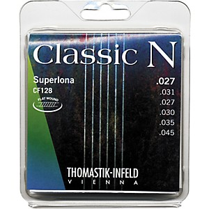 Thomastik-CF128-N-Series-Nylon-Strings---Light-Tension-Standard