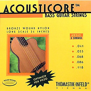 Thomastik-AB345-Acousticore-Phosphor-Bronze-5-String-Bass-Strings-Standard
