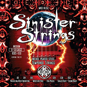 Kerly-Music-Sinister-Strings-Nickel-Wound-Electric-Guitar-Strings---Medium-Standard