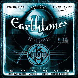 Kerly-Music-Earthtones-80-20-Bronze-Acoustic-Guitar-Strings---Light-Gauge-Standard