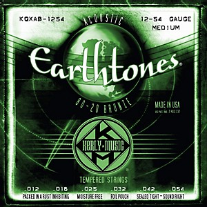 Kerly-Music-Earthtones-80-20-Bronze-Acoustic-Guitar-Strings---Medium-Gauge-Standard