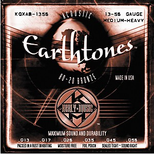 Kerly-Music-Earthtones-80-20-Bronze-Acoustic-Guitar-Strings---Medium-Heavy-Standard