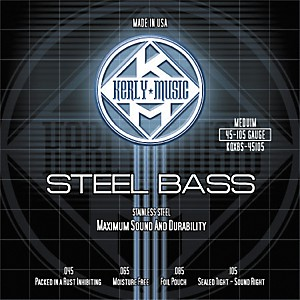 Kerly-Music-Stainless-Steel-Bass-Strings-Medium-Standard