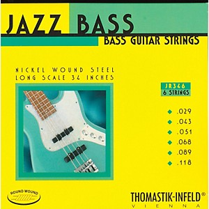 Thomastik-JR346-Roundwound-Scale-6-String-Jazz-Bass-Strings-Standard