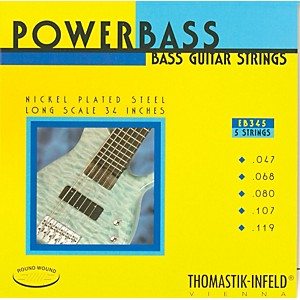 Thomastik-EB345-Medium-Light-Power-Bass-Roundwound-5-String-Bass-Strings-Standard