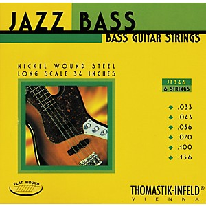 Thomastik-JF346-Flatwound-Scale-6-String-Jazz-Bass-Strings-Standard