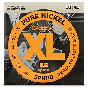 D-Addario-EPN110-Pure-Nickel-Electric-Guitar-Regular-Light-Strings-Standard