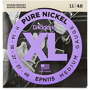 D-Addario-EPN115-Pure-Nickel-Electric-Guitar-Blues-Jazz-Electric-Guitar-Strings-Standard