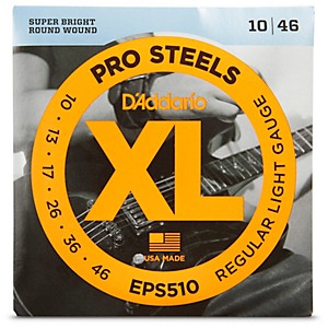 D-Addario-EPS510-ProSteels-Light-Electric-Guitar-Strings-Standard