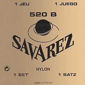 Savarez-Traditional-White-Card-520B-Light-Tension-Classical-Guitar-Strings-Standard