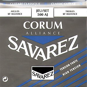 Savarez-Corum-Alliance-500AJ-High-Tension-Classical-Guitar-Strings-Standard