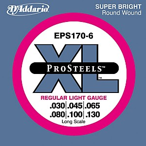 D-Addario-ProSteels-EPS170-6-Regular-Light-6-String-Bass-Strings-Standard