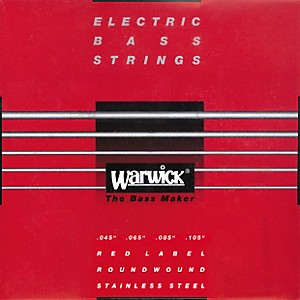 Warwick-Red-Label-Stainless-Wound-Medium-4-String-Bass-Strings-Standard