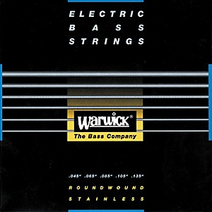 Warwick-Red-Label-Stainless-Wound-Medium-5-String-Bass-Strings-Standard