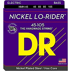 DR-Strings-Nickel-Medium-Lo-Riders-4-String-Bass-Strings-Standard