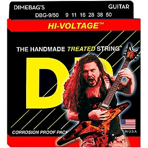 DR-Strings-Dimebag-Darrell-DBG-9-50-Signature-Hi-Voltage-Electric-Guitar-Strings-Standard