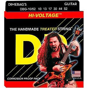 DR-Strings-Dimebag-Darrell-DBG-10-52-Medium-Heavy-Hi-Voltage-Electric-Guitar-Strings-Standard