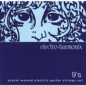 Electro-Harmonix-NIC9-Nickel-Wound-Ultra-Light-Electric-Guitar-Strings-Standard