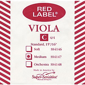 Super-Sensitive-Red-Label-Viola-C-String-Full